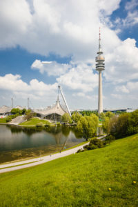 Olympiapark in Munich Germany - architecture photography by Dynamic Forms and Martin Foddanu Photography