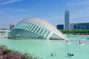 City of Arts and Sciences in Valencia Spain - architecture photography by Dynamic Forms and Martin Foddanu Photography