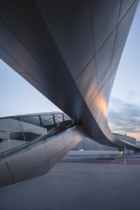 BMW World in Munich Germany - architecture photography by Dynamic Forms and Martin Foddanu Photography