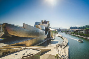 Guggenheim Museum in Bilbao Spain - architecture photography by Dynamic Forms and Martin Foddanu Photography