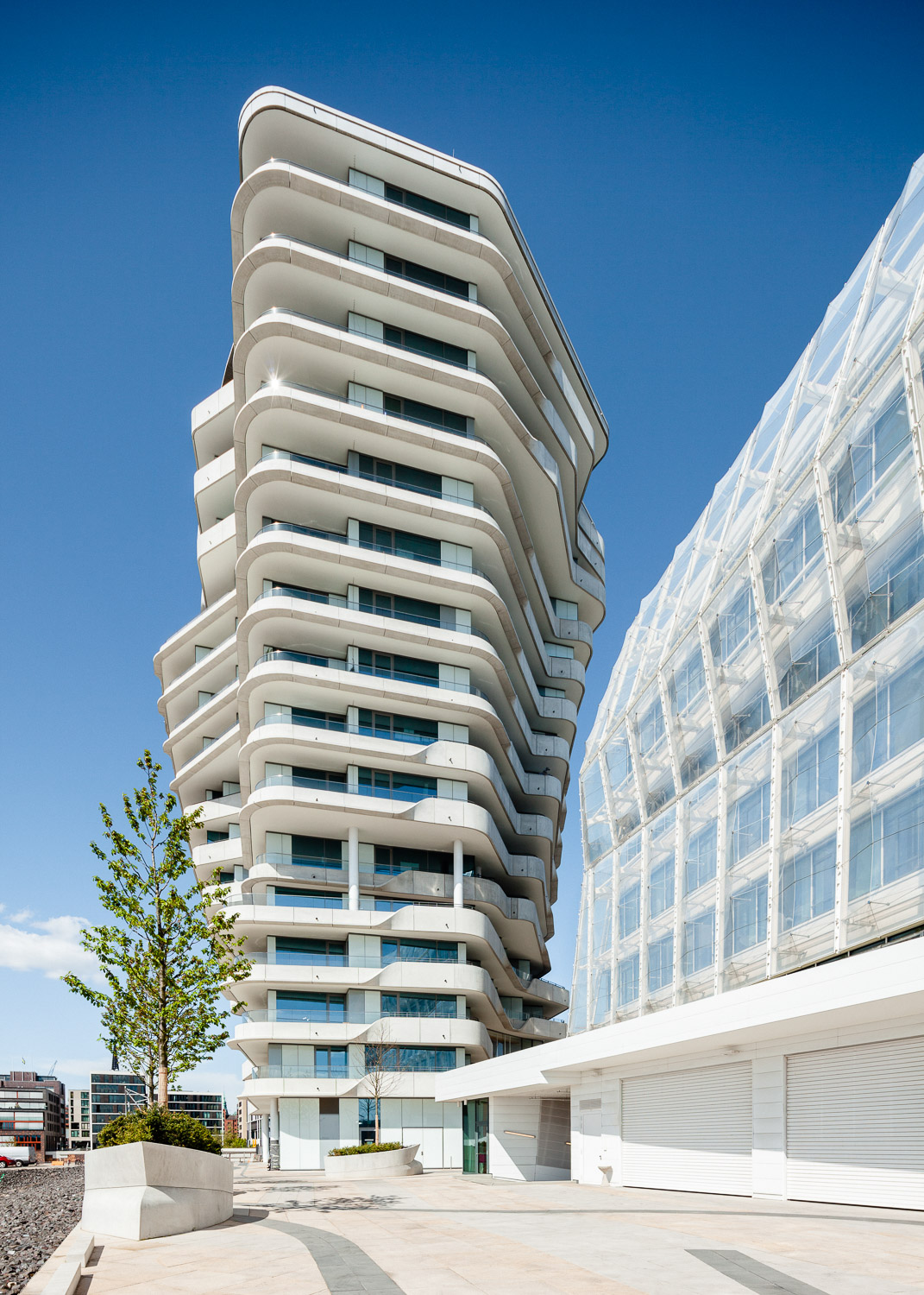 Marco Polo Tower - Hamburg - dynamic forms
