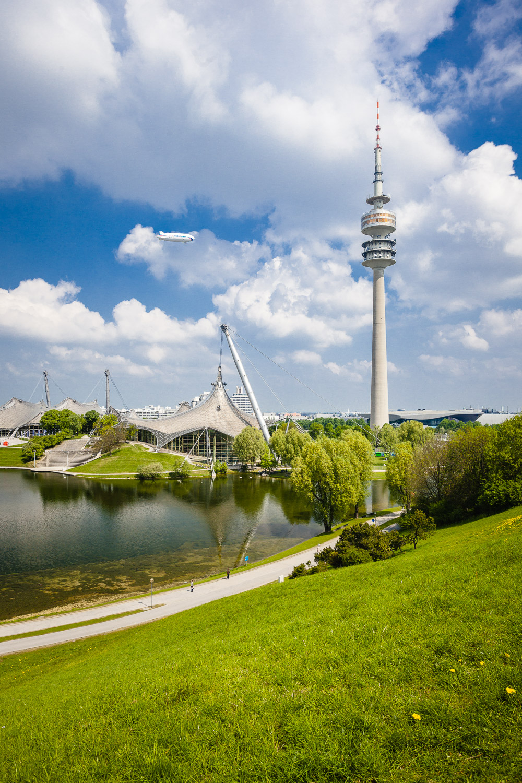 Olympiapark - Munich - dynamic forms