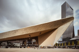 Centraal Station in Rotterdam - Netherlands - architecture photography by Dynamic Forms and Martin Foddanu Photography