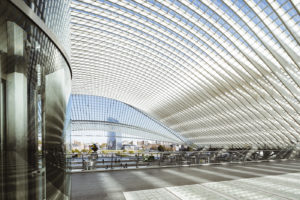 Central Station - Liége, Belgium - architecture photography by Dynamic Forms and Martin Foddanu Photography