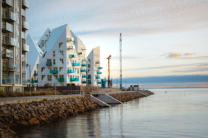 The Iceberg in Aarhus - Denmark - architecture photography by Dynamic Forms and Martin Foddanu Photography