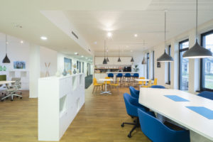 ISG & Regus - Hamburg, Germany - architecture photography by Dynamic Forms and Martin Foddanu Photography